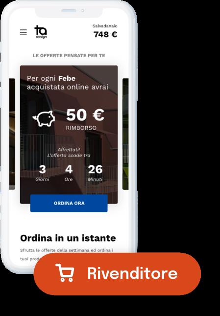 TA mybusiness - Piattaforma lato rivenditori da iphone